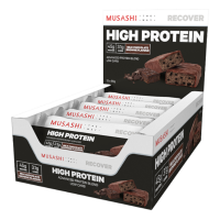 MUSASHI P45 HIGH PROTEIN BAR  90GR x 12