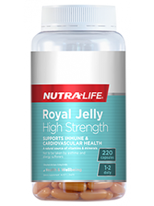 NutraLife Royal Jelly High Strength 220 Capsules
