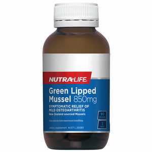 NutraLife Green Lipped Mussel 850mg  90c