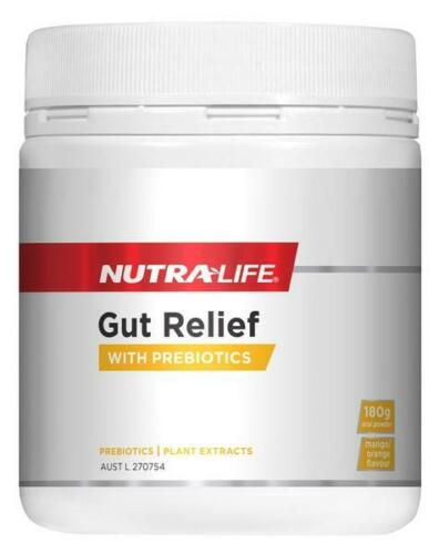 NutraLife GUT RELIEF with PREBIOTIC 180GR