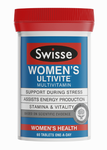 SWISSE WOMEN'S ULTIMATE MULTIVITAMIN 60T