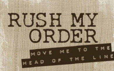 Rush My Order (Processing Upgrade)