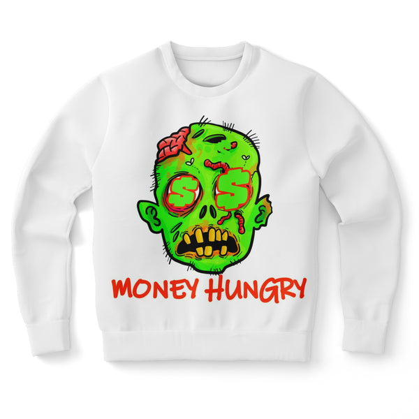 Money Hungry Zombie Sweatshirt