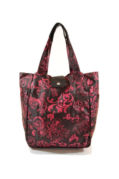 4b2c606fb9 Malibu Tote - Pink Victoria – RunRunRun | Tote Bags, Reusable Bags, Lunch  Bags and Travel Accessories