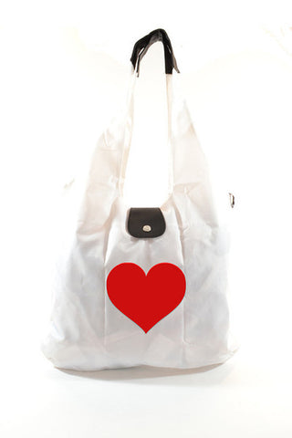 Italia Shopper - Heart on Ivory