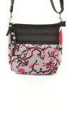 Austin Crossbody - Lilac Vines