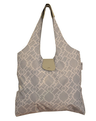 Italia Shopper - Gray Geometries