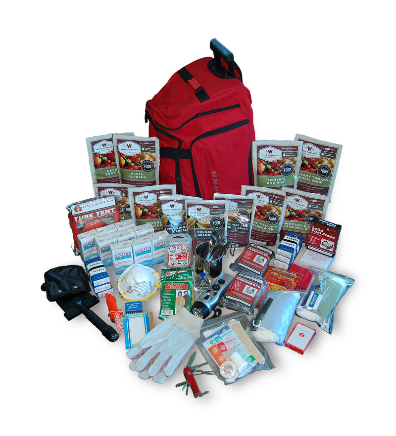 1 Week Deluxe Survival Backpack (2 People)
