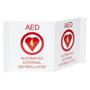 AED 3-D Wall Sign
