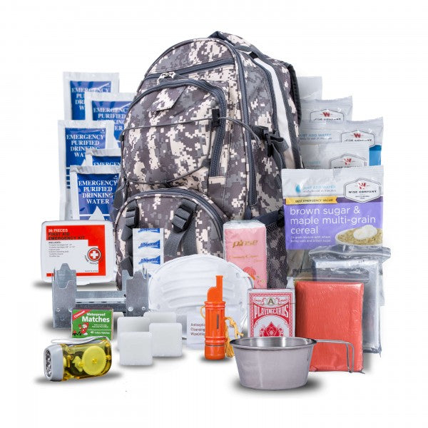 5 Day Emergency Survival Kit-CAMO (1 Person)