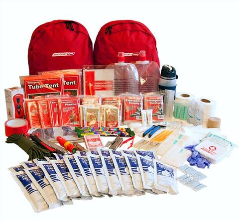 Two Week All Inclusive Disaster Preparedness Kit (4 People)