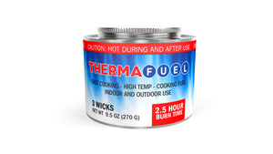Bobcat Stove with Therma-Fuel Cans
