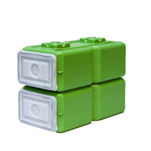 FoodBrick- 3.5 Gallons Green (2 pack)