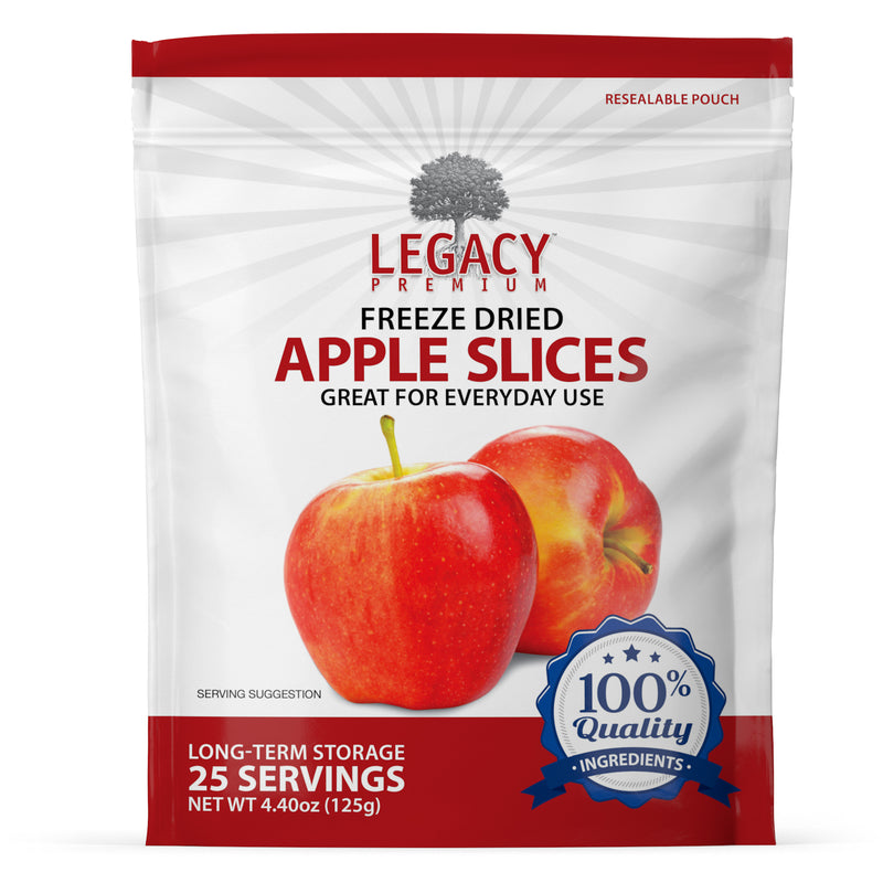 Freeze-Dried Apple Slices