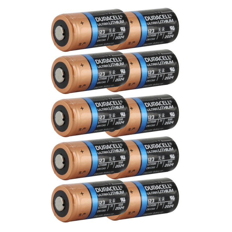 Type 123 Lithium Batteries