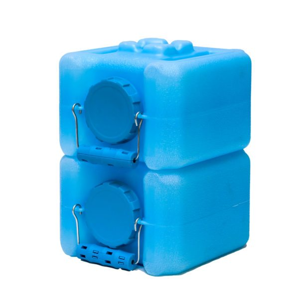 Half WaterBricks- 1.6 Gallons Blue (2 pack)