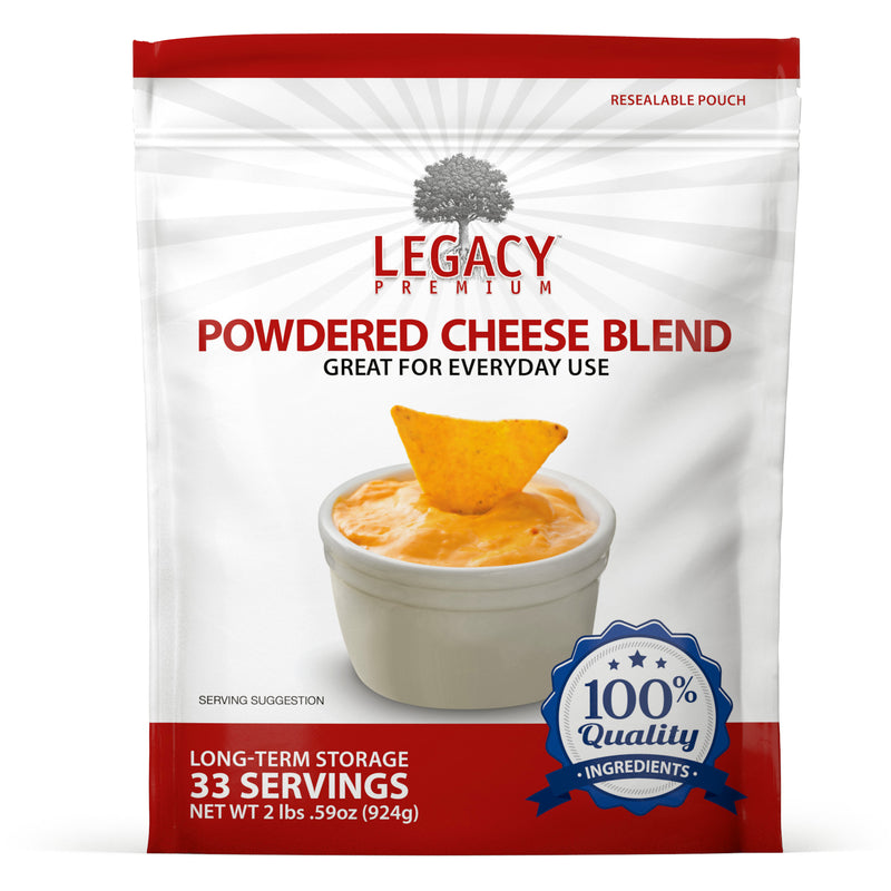 Powdered Cheese Blend (33 Servings Pouch)