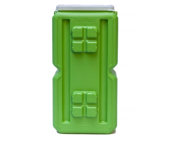 FoodBrick- 3.5 Gallons Green (10 pack)