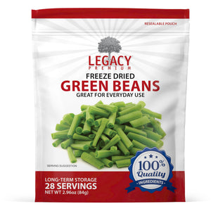 Freeze-Dried Green Beans