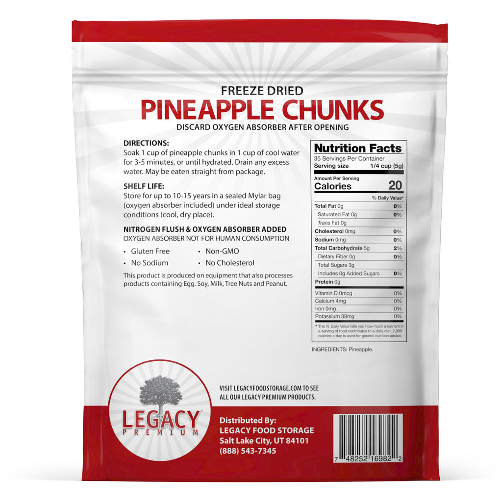 Freeze-Dried Pineapple
