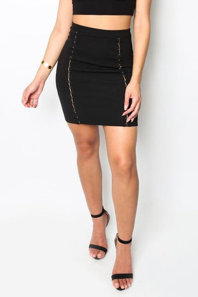 """Tigress"" Mini Skirt"