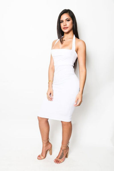 """Marilyn"" Halter Dress"