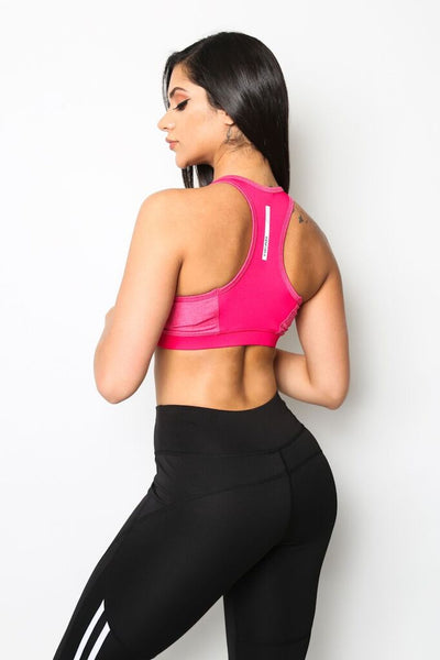 """Pretty In Pink"" Sports Bra"