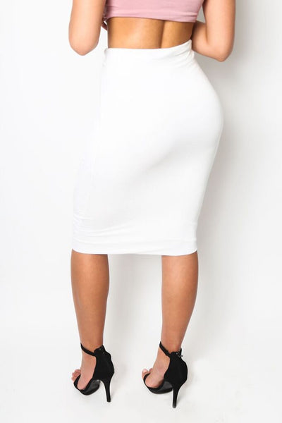 """Fierce"" Knee-Length Pencil Skirt"