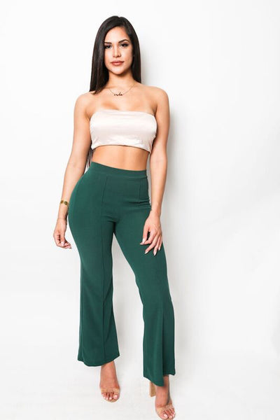 """Paper Chaser"" High Rise Dress Pants"