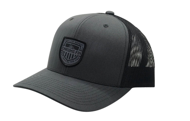 Blackout Flag Shield Trucker Cap