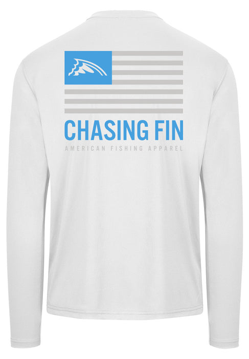 Blue & Gray Flag Performance Shirt