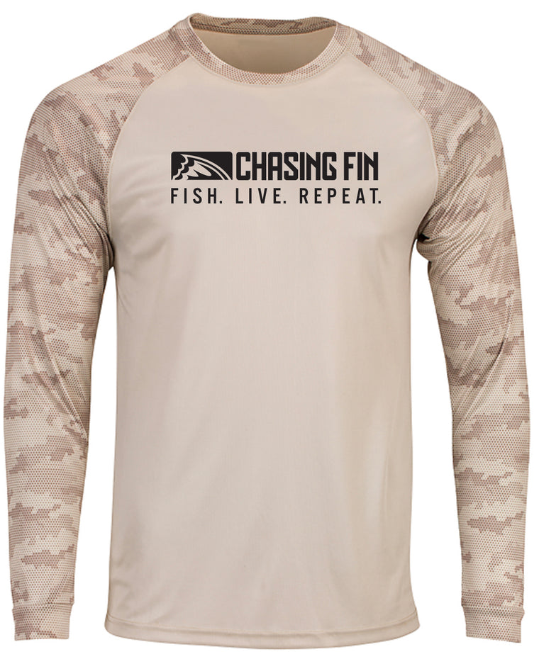 ProFin Camo Performance Shirt (Sand)
