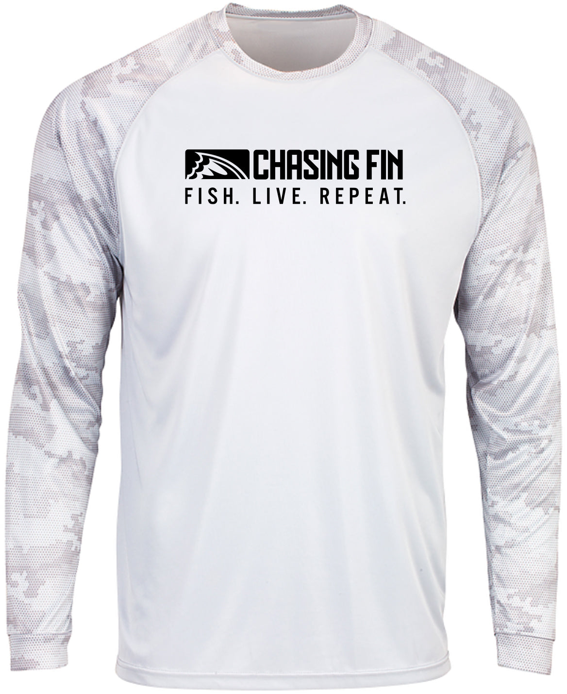 ProFin Camo Performance Shirt (White)