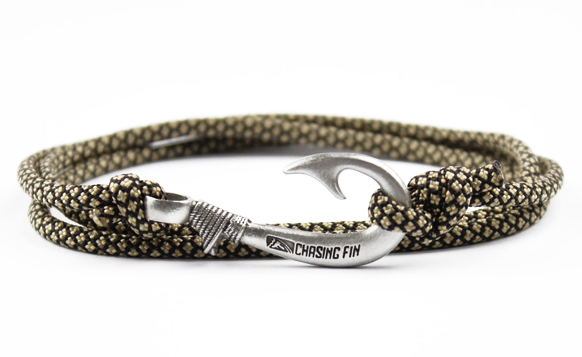 Gold Diamonds Fish Hook Bracelet
