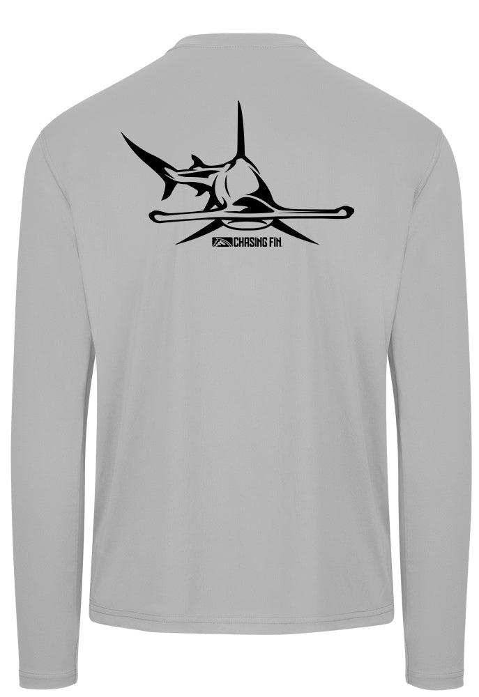 Hammerhead Performance Shirt (Light Gray)