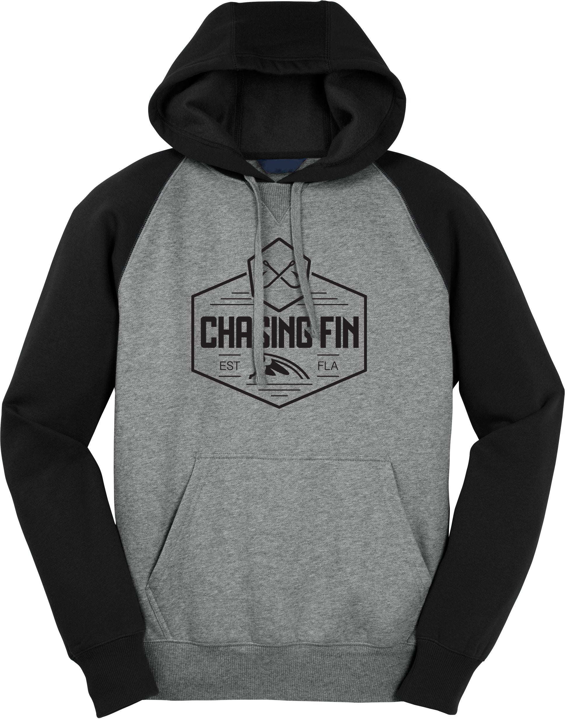 Chasing Fin Crest Logo Pullover Hoodie