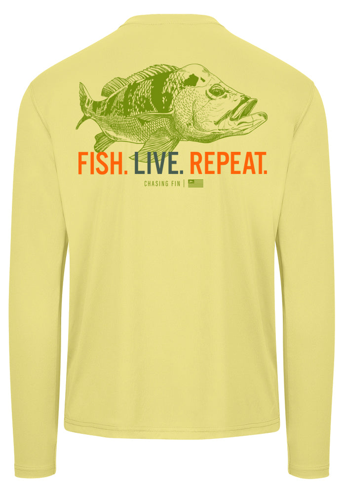 Peacock Bass Performance Shirt