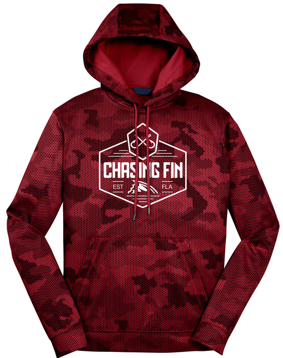 Digital Camo Crest Logo Pullover Hoodie