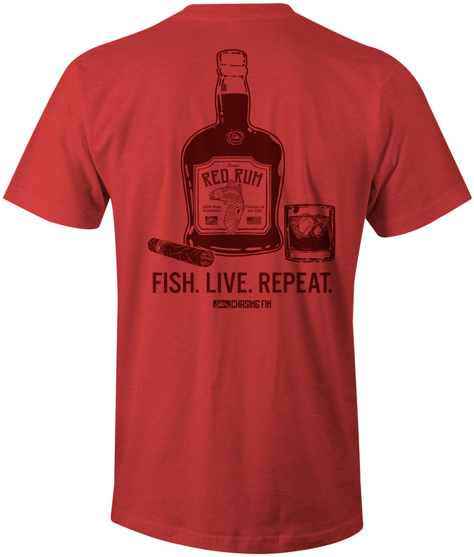 Red Rum Redfish T-Shirt