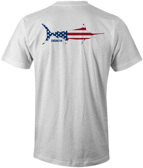 Patriotic Marlin T-Shirt