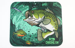 Angry Bass Mouse Pad