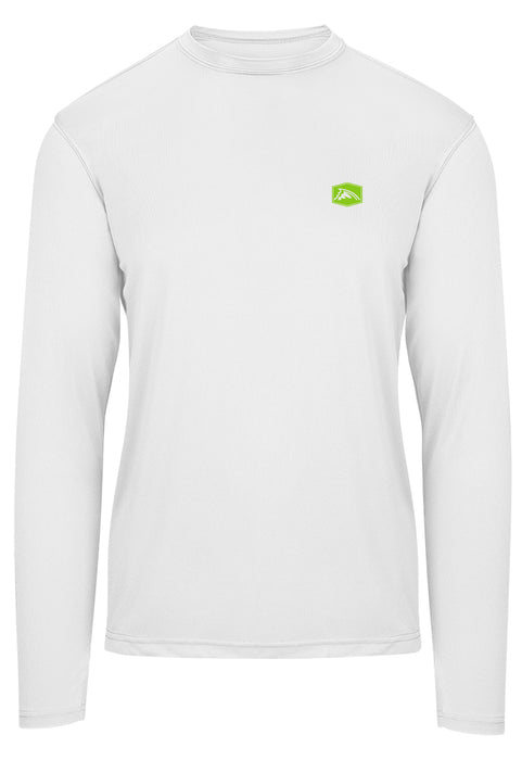 Bass Camo Heavy Cover Performance Shirt (White)