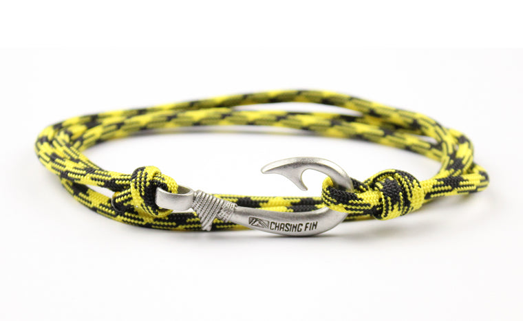 Killer Bees Fish Hook Bracelet