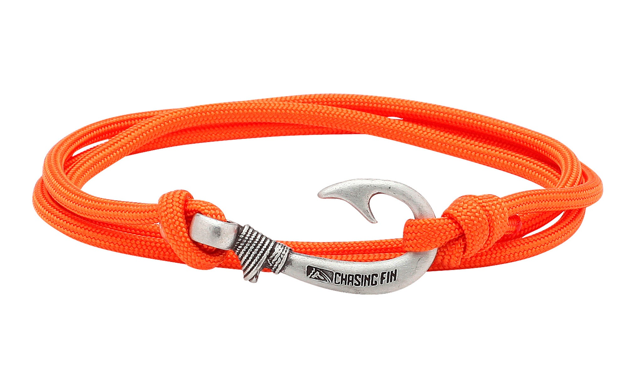 Burnt Orange Fish Hook Bracelet
