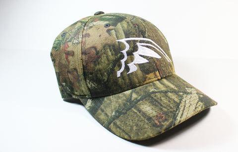 Mossy Oak Camo Flex Fit Hat