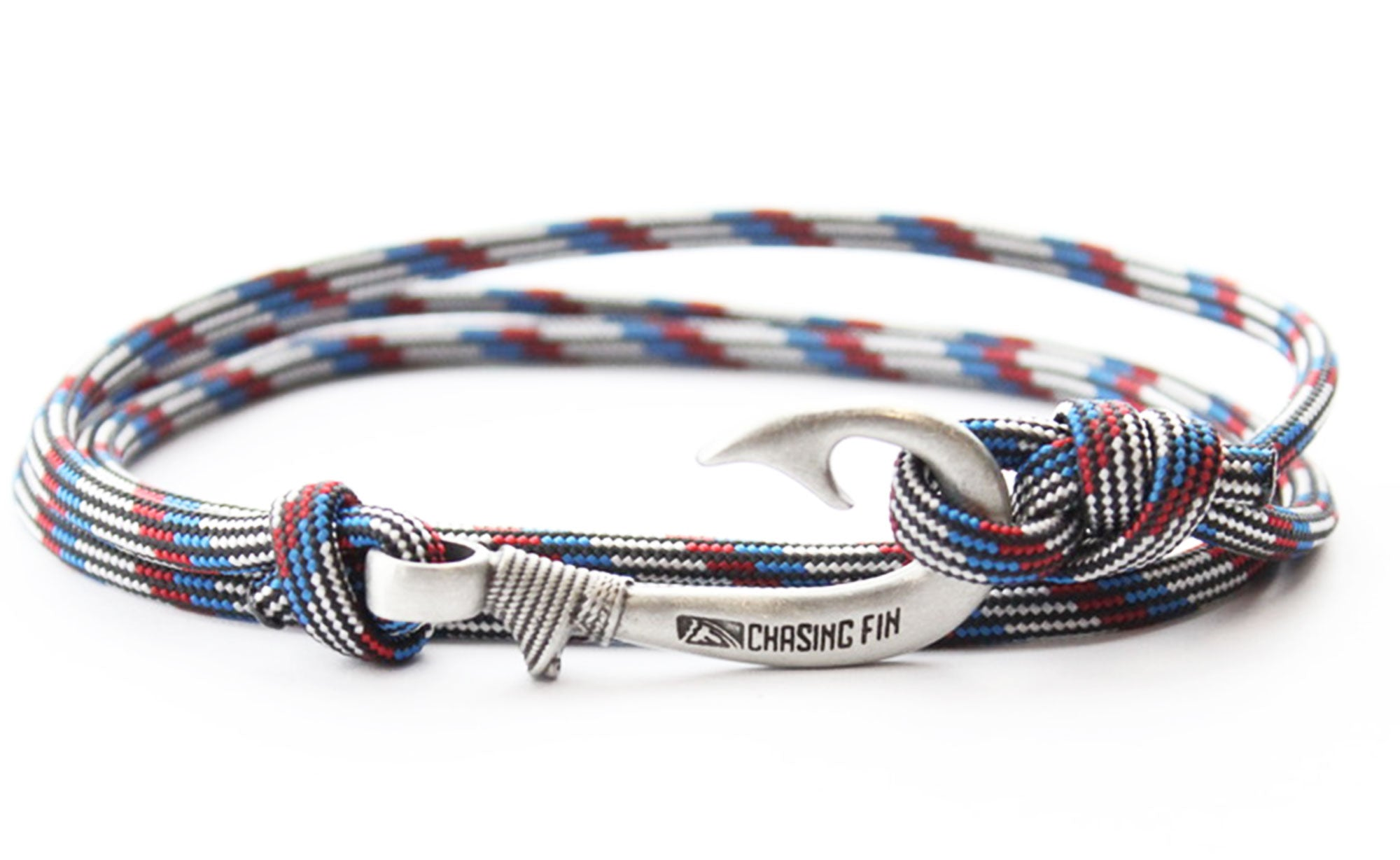 Captain America Fish Hook Bracelet