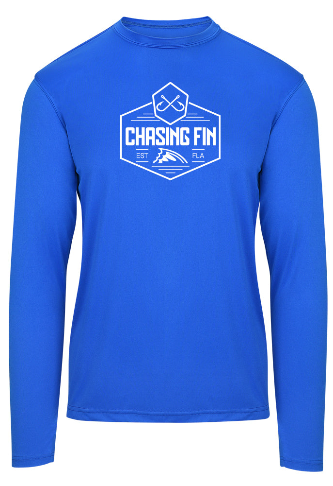 Chasing Fin Warrior Crest Performance Shirt