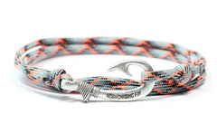 Diecast Fish Hook Bracelet