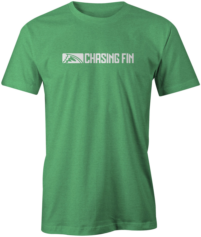 Chasing Fin Logo Shirt (Heather Green)
