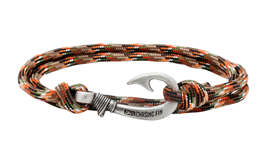 Lost Camo Fish Hook Bracelet